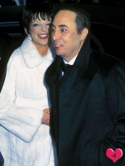Top Tr3ce Most-Expensive Celebrity Weddings - # 4 Liza Minelli and David Gest: $3.5 million in 2002