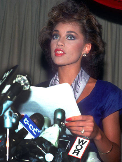 Top 15 Scandalous Beauty Queens - Vanessa Williams