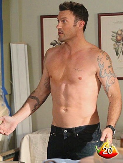 The Sexiest Men on TV - #20: Brian Austin Green from