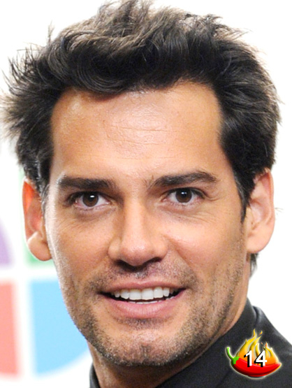 The Sexiest Men on TV - #14: Novela superstar Christian de la Fuente