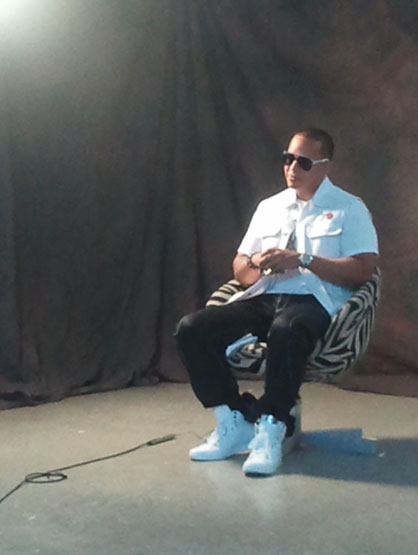 Daddy Yankee: Behind the scenes. - Daddy Yankee: Behind the scenes.