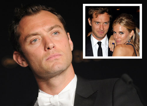 A-list Cheaters - This case of adultery boils down to hot guy, cheating on hot girlfriend with the nanny. Yes, Hollywood hunk Jude Law cheated on the gorgeous Sienna Miller in the middle of their relationship and she sent him packing after they tried to work it out after he gave her a very public apology. We do have to point it out though that Law met Miller on the set of Alfie in 2003 and that he was married at the time to actress Sadie Frost. If he cheated WITH you then he'll cheat ON you!