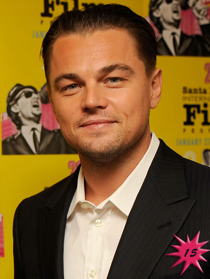 Forbes Top 25 Celebrities - Actor Leonardo Dicaprio became famous after he made What's Eating Gilbert Grape in 1993. Currently he is enjoying the success of Shutter Island and Inception. Earnings: $77 mil