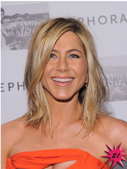 Forbes Top 25 Celebrities - Actor Jennifer Aniston became famous on the sitcom, Friends, in 1994. Currently she is promoting her new movie Horrible Bosses. Earnings: $28 mil