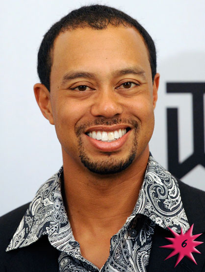 Forbes Top 25 Celebrities - Golf Pro Tiger Woods became famous in the 1997 Masters Tournament. Despite Wood's infidelity scandal and struggle to find new sponsorship, he continues to be the best-paid athlete due current sponsors and overseas appearances. Earnings: $75 mil