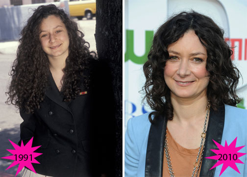 Stars Who Have Barely Aged - Sara Gilbert