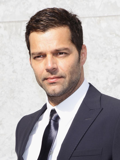 Hottest Celebrity Dads - Ricky Martin - has twin boys.