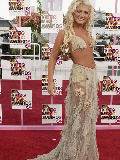 Worst Celebrity Fashion Mistakes - Brooke Hogan at the 2004 MTV Video Music Awards