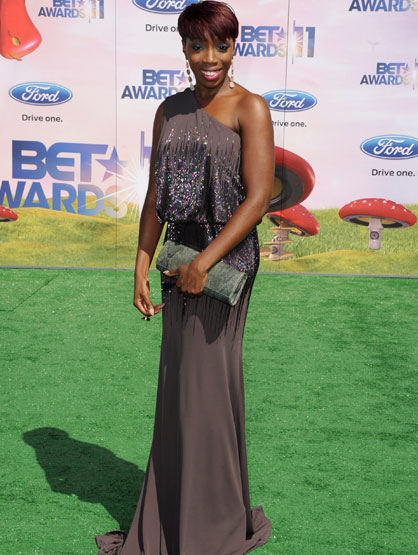 The Fashion at the BET Awards - Estelle