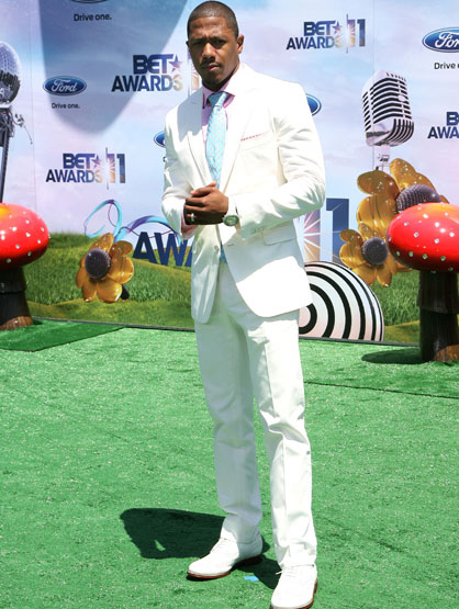 The Fashion at the BET Awards - Nick Cannon