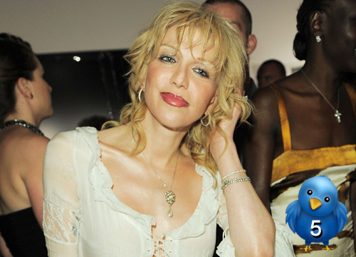 The 10 Dumbest Celebrity Tweets - Courtney Love: (After Tweeting some very racy pictures of her naked self) 
