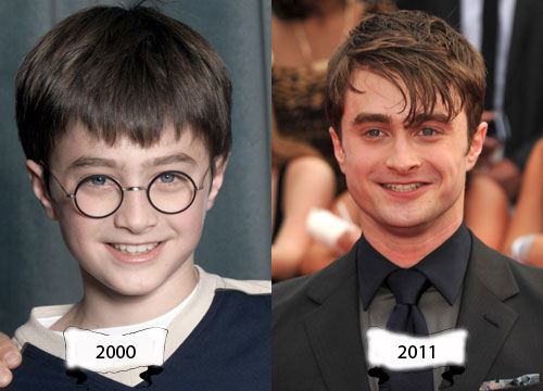 Harry Potter Through the Years - Daniel Radcliffe plays Harry Potter