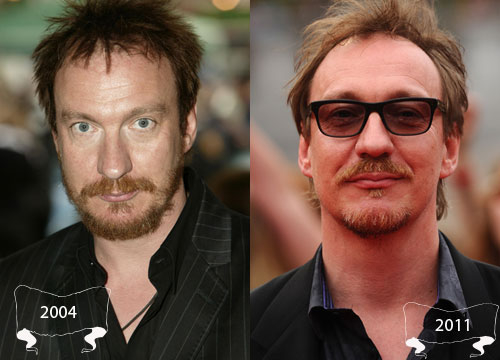 Harry Potter Through the Years - David Thewlis plays Remus Lupin
