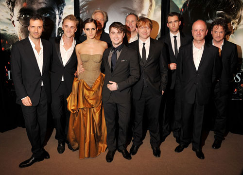 Harry Potter Through the Years - The cast of Harry Potter and the Deathly Hallows pt 2 in NYC!
