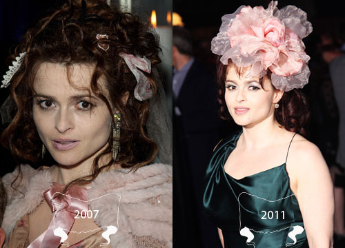 Harry Potter Through the Years - Helena Bonham Carter plays Bellatrix Lestrange