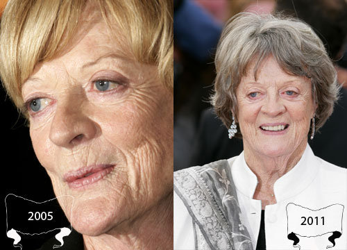 Harry Potter Through the Years - Maggie Smith plays Minerva McGonagall