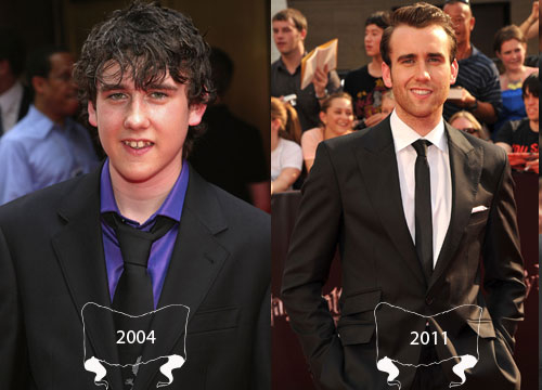 Harry Potter Through the Years - Matthew Lewis plays Neville Longbottom