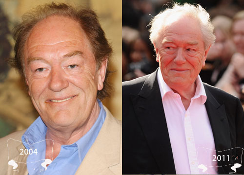 Harry Potter Through the Years - Michael Gambon plays Albus Dumbledore