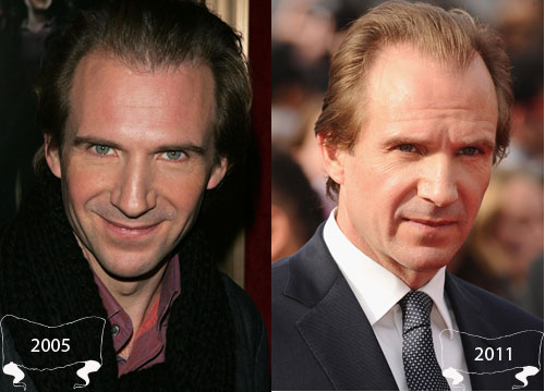Harry Potter Through the Years - Ralph Fiennes plays Lord Voldemort