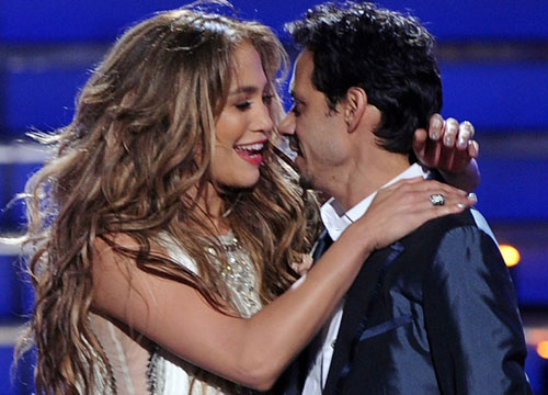 J.Lo and Marc: Through the Years - J.Lo and Marc looked super happy after their performance at the