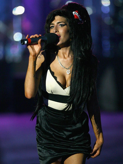 Remembering Amy Winehouse - Jun 2008 Concert: In Celebration Of Nelson Mandela's Life.