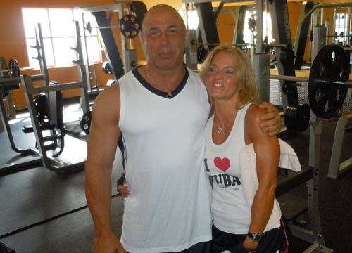 Quiero Mi Boda Season 3: Nancy and Bill - At the gym.