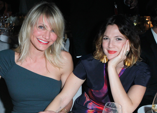 Famous Friends - Drew Barrymore and Cameron Diaz: The Charlies Angels have known each other a lot longer than we thought. Cameron says Weve known each other so long. We met when she was 14 and I was 16. We met at a place that we both used to hang out in when I was modeling and she wasnt acting. She was working at this coffee shop or this soda shop, and I used to go hang out there and we became friendly. Once I started acting, she said, Oh, I remember you! and we used to hang out and we became friends.