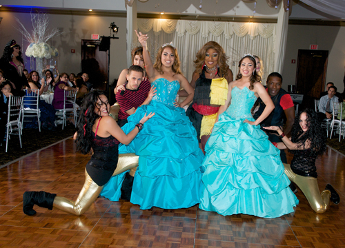 Quiero Mis Quinces | Season 7: Brigitte and Brishell - With Velvet after her performance.