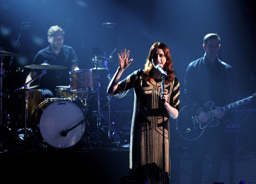 Stars Going On Tour in 2012 - Florence and the Machine: The Experimental Indie Rock band goes on tour.. Did you catch Katy Perry's imitation of Florence and the Machine?