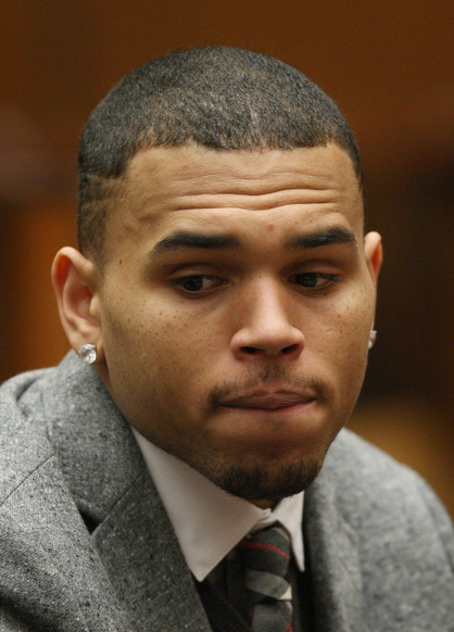 Celebrity Troublemakers - Chris Brown: Infamous for what he did to Rihanna, there's no living that down.