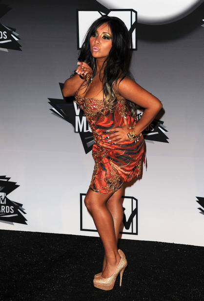 Celebrity Troublemakers - Snooki: Crashing into police cars and smushing Vinny. We love team meatballs and the trouble they cause!