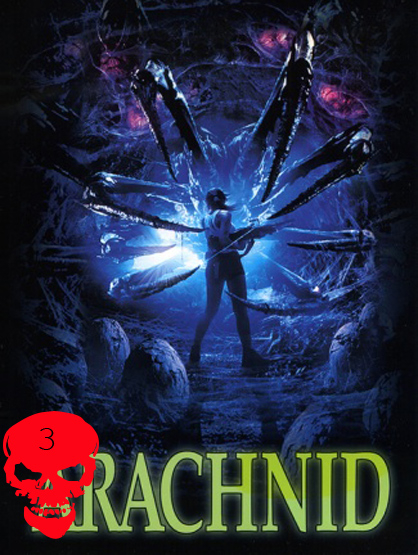Top 10 Horror Films! - Arachnid: Loren Mercer (Alex Reid III) is an ex-Navy pilot, looking for her ex-boyfriend, Capt. John Lightfoot (Jesus Cabrero), who disappeared when he was sent on a secret mission. She soon learns that her ex collided with an alien spacecraft causing Mercer to face a very big spider. Director: Jack Sholder