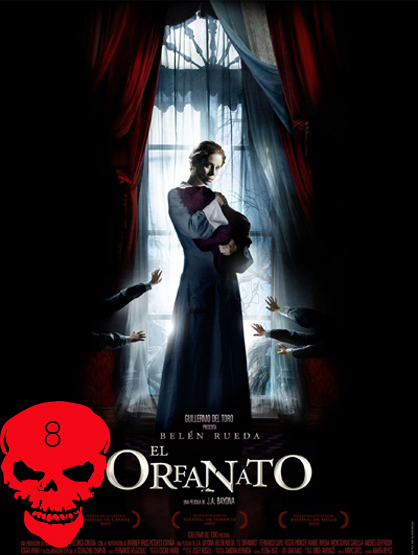 Top 10 Horror Films! - The Orphanage: Laura (Belén Rueda) convinces her husband (Fernando Cayo) to move with their son Simón (Roger Príncep) to help turn an old orphanage into a facility for disabled children. Thing take a turn when Simón becomes increasingly malevolent and Laura learns the house's terrifying secrets. Directed by : Juan Antonio Bavona