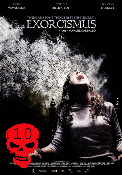 Top 10 Horror Films! - Exorcismus: When demon possession seems evident in a teenage girl, her family calls a priest who secretly records her exorcism. Directed by: Manuel Carballo