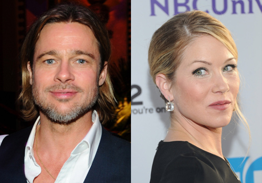 Hollywood's Weird Relationships - Brad Pitt and Christina Applegate (Another blonde way before Jen)