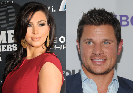 Hollywood's Weird Relationships - Kim Kardashian and Nick Lachey (Can you imagine Nick giving Kim a 5 million dollar engagement ring?)