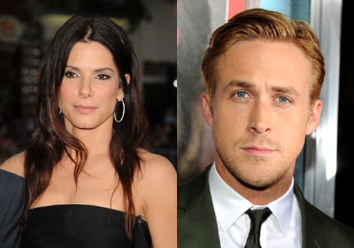 "Hollywood's Weird Relationships - Sandra Bullock and Ryan Gosling (not just co-stars in ""Murder by Numbers"")"