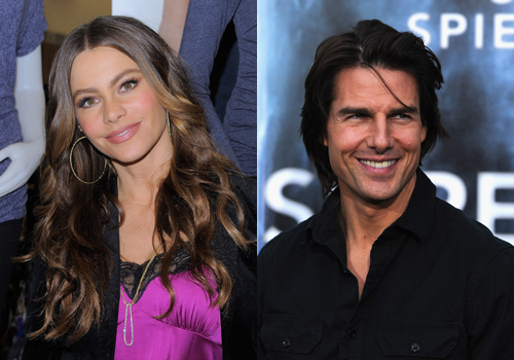 Hollywood's Weird Relationships - Sofia Vergara and Tom Cruise (they almost got married)