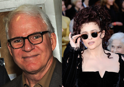 Hollywood's Weird Relationships - Steve Martin and Helena Bonham Carter ( This is a weird couple, still cant believe this happened )