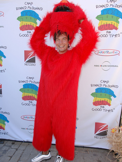 Halloween Costumes Through the Years - Jerry O'Connell as Elmo.