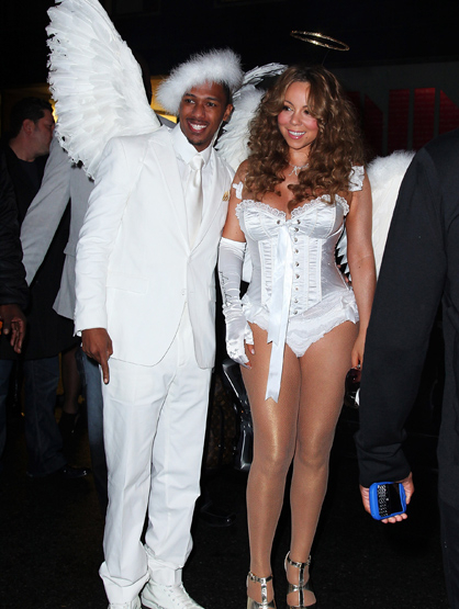 Halloween Costumes Through the Years - Nick Cannon and Mariah Carey