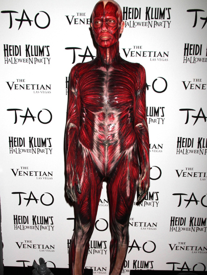 Halloween Costumes Through the Years - Heidi Klum wore her inside on the outside this year!