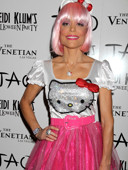 Halloween Costumes Through the Years - Bethenny Frankel as Hello Kitty, her costume inspired by her daughter Bryn.