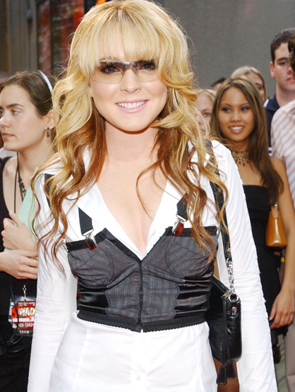 Lindsay Lohan Through the Years - Aug 2003