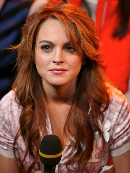 Lindsay Lohan Through the Years - Jan 2004: At TRL Breakout Stars Week