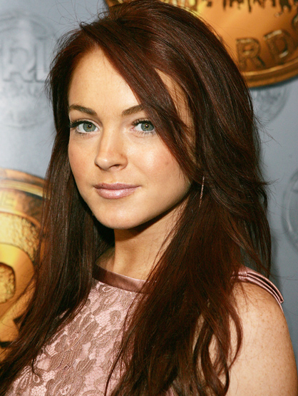Lindsay Lohan Through the Years - Feb 2005: At the MTV 3rd Annual TRL Awards