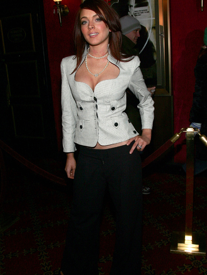 Lindsay Lohan Through the Years - Mar 2005: At the Premiere Of
