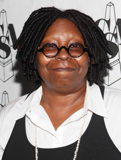 Stars Who Wore Braces - Whoopi Goldberg: an American comedian, actress, singer-songwriter, political activist, author and talk show host.