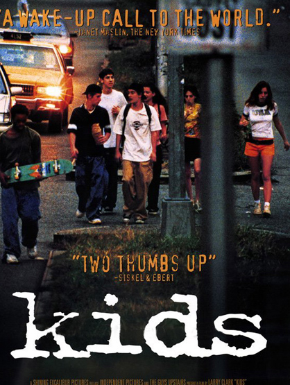 Unintentional Horror Movies - Kids: This movie shows how truly scary kids who are out of control can be. One looking for virgins to sleep with so he won't get an STD, but spreading AIDS to each new girl. Watching Kids from beginning to the last moments will make your skin crawl and is more cringe-worthy than the goriest slasher flick.