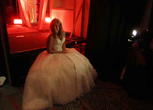 Quiero Mis Quinces | Season 7: Yeleini - Seconds before my Grand Entrance.